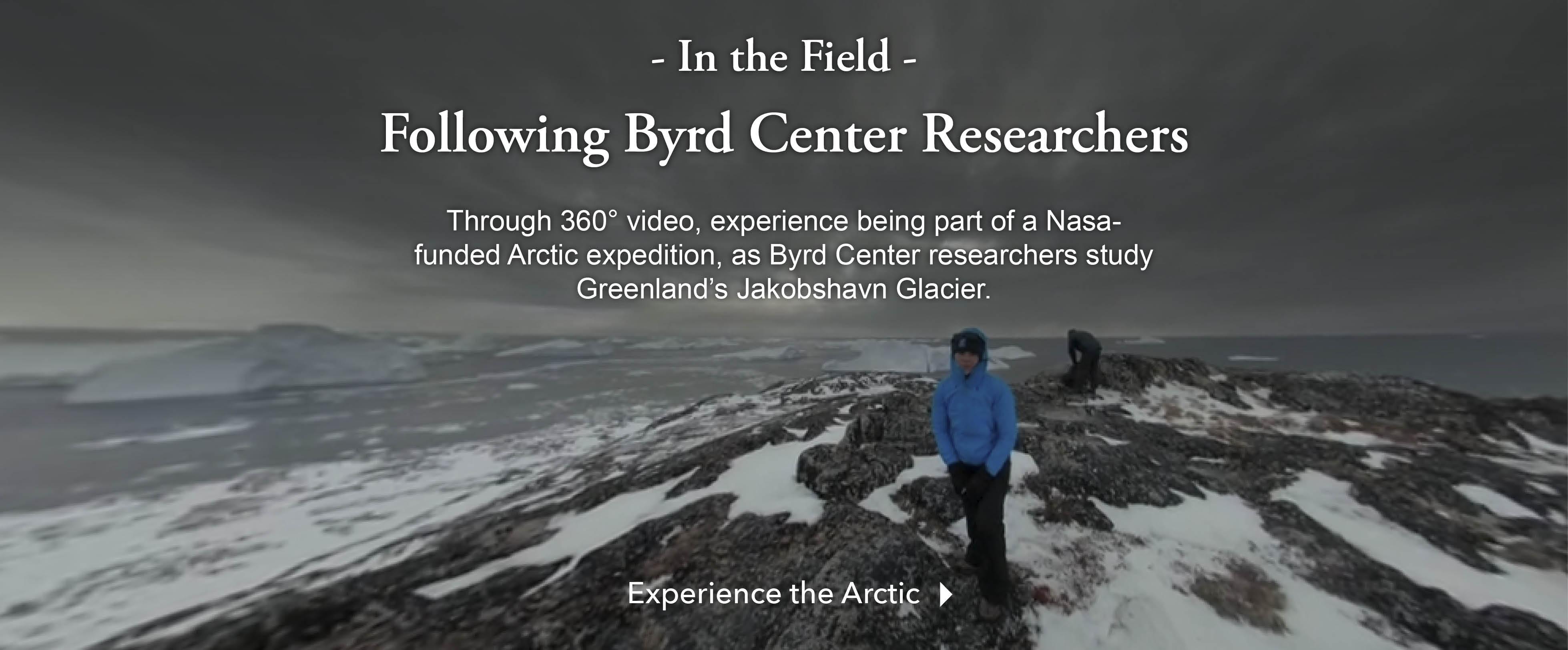 Explore Jakobshavn Glacier