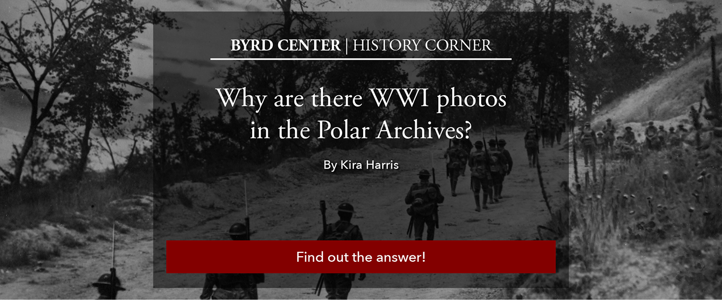 Why are there WWI photos in the Polar Archive? Read to find the answer!