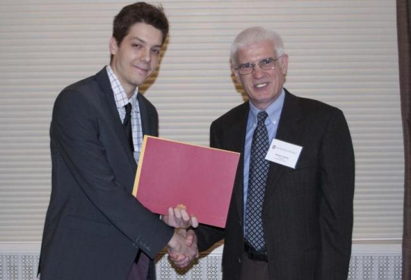 John-Morgan Manos Receives Taaffe Scholarship