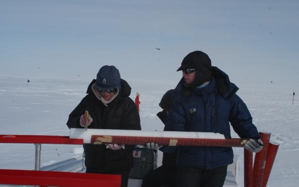 Explore real data from an ice core.