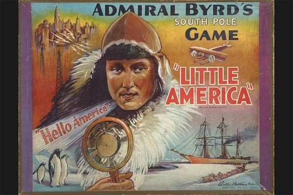 Cover image of Byrd's South Polar Board Game