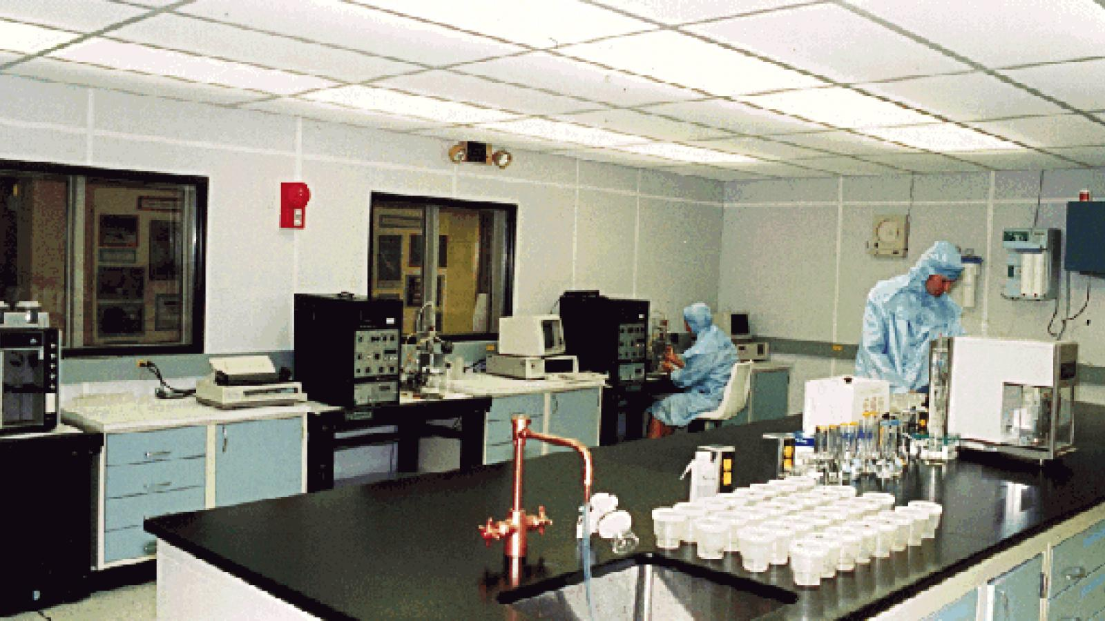 Ice Core Clean Room & Lab